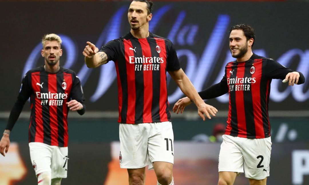 Milan-Crotone 4-0, doppi Ibra e Rebic!