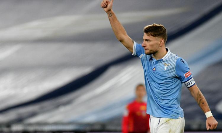 Lazio, Immobile: 'A Milano per vincere con l'Inter. Mancini e i gol in Nazionale...'