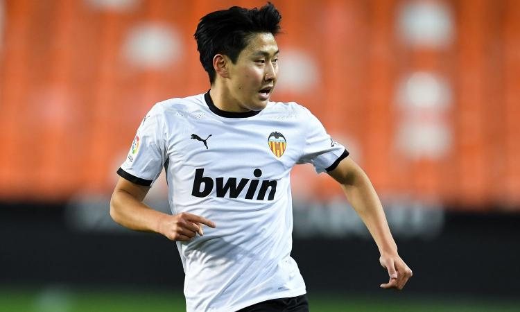 Juve: anche un'inglese su Kang-In Lee