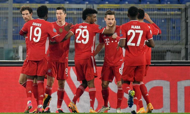 Troppo Bayern per la Lazio: 1-4 senza storia all'Olimpico, Inzaghi quasi fuori. Lewandowski e Musiala da record