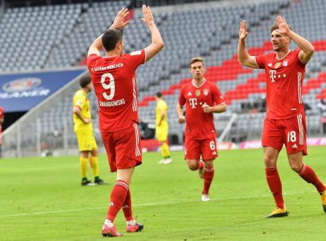 Bayern Monaco: Lewandowski torna ad allenarsi, ma per il PSG è ...
