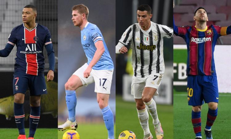 Troppi calciatori in rosa e giocano sempre gli stessi: la pantomima delle grandi leghe europee