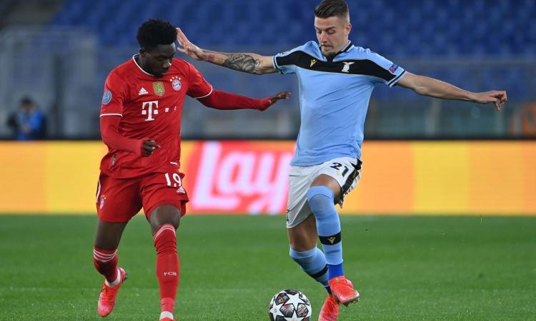 Lazio-Bayern, rivivi la MOVIOLA: Milinkovic-Savic atterrato in area da Boateng, era calcio di rigore