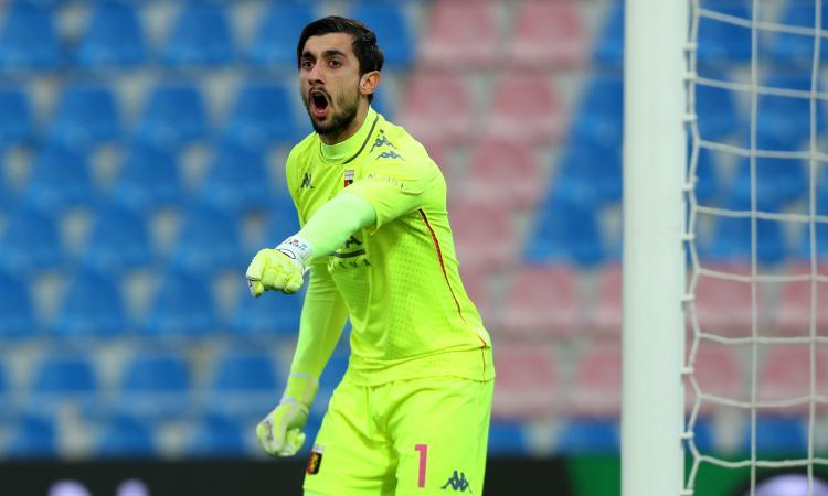 Battibecco Perin-Ronaldo in Juve-Genoa: c'è un precedente