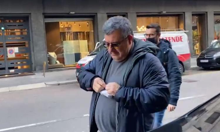 Rinnovo Donnarumma, Raiola non si sbottona: 'Gigio sta andando molto bene...' VIDEO