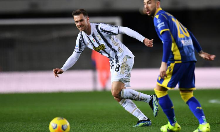 Verona-Juventus, rivivi la MOVIOLA: Faraoni chiede rigore per un tocco di Chiesa. Gialli a Ramsey e De Ligt