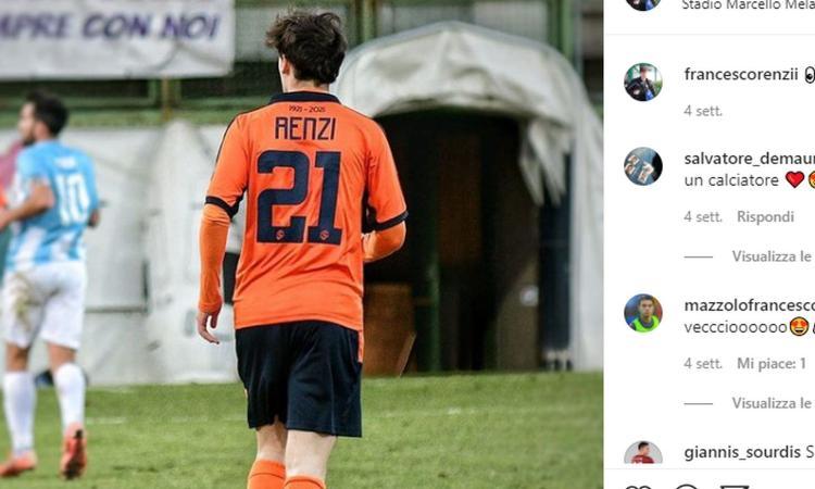 La Serie C dei figli d'arte: Maldini jr marca Francesco Renzi in Pro Sesto-Pistoiese