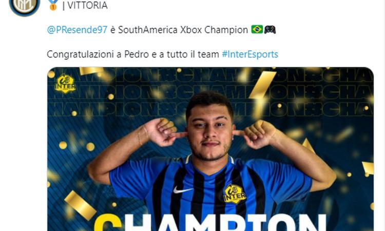Fifa 21: l'Inter trionfa nel Sud America, primo trofeo negli eSports. Aspettando eSerie A e Mondiale per Club