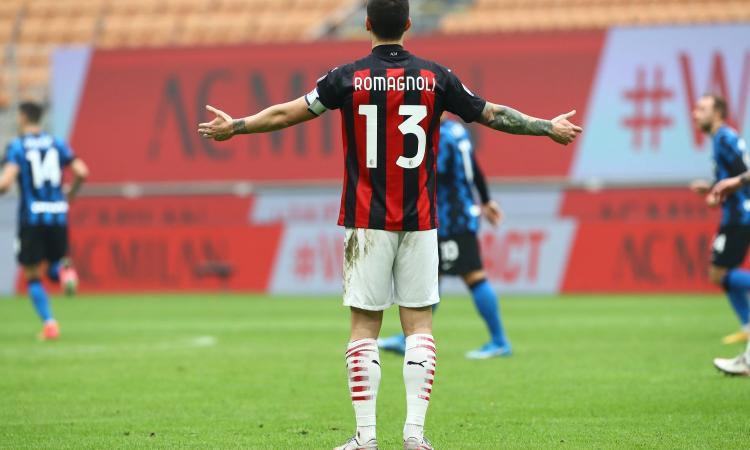Milan, Romagnoli è un problema: è un capitano da panchina, Lukaku lo umilia