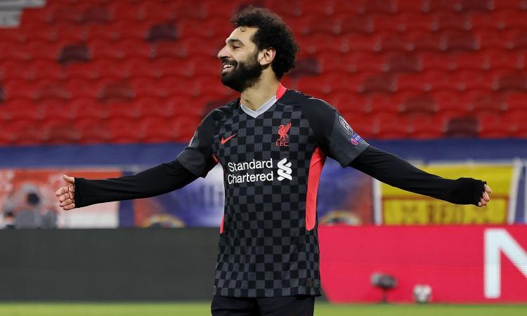 Verso Liverpool-Milan: Salah nell'olimpo dei marcatori di Champions con Messi, Ronaldo e Lewandowski