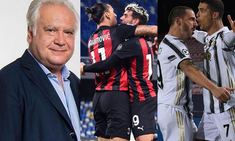 Un cappuccino con Sconcerti: il Milan ha 4 giocatori di livello mondiale. Le altre no, Juve a parte