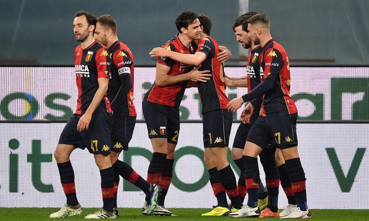 Genoa, cifre tonde e record storici nella gara con il Verona