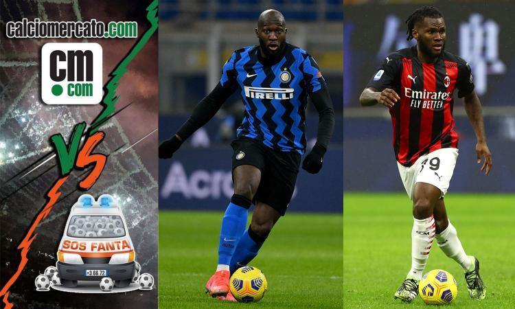 CM.com vs Sos Fanta: Lukaku e Kessie, caccia a un +3 su rigore nel derby. Certezze Juve e Roma, Ilicic e Belotti...