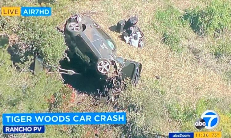 Grave incidente stradale a Los Angeles per il golfista Tiger Woods: operato alle gambe VIDEO