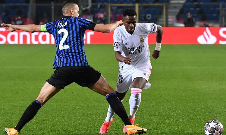 Atalanta, Toloi: 'Il rosso non c'era, ma anche in dieci siamo stati alla pari. A Madrid ce la giochiamo'