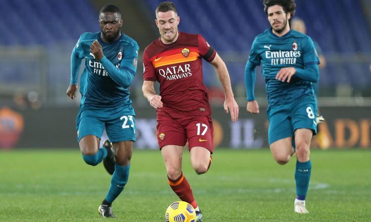 Roma-Milan, le pagelle di CM: super Rebic, che partita di Tomori! Fazio in smart working, Pellegrini con paura