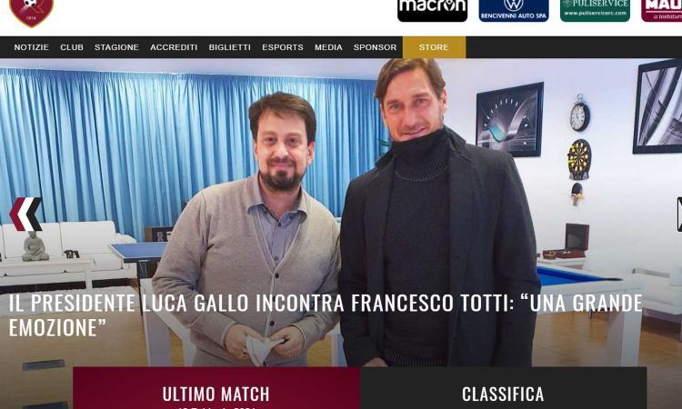 Quel buffo balletto fra Totti e la Reggina