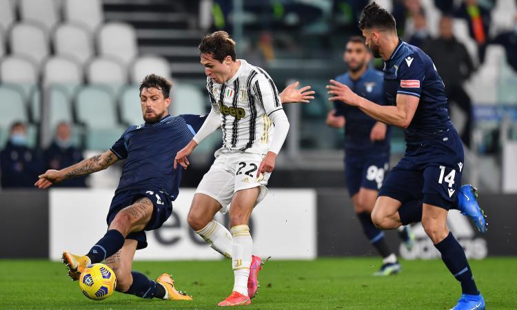 Juve-Lazio, rivivi la MOVIOLA: mani di Hoedt, per Massa e il Var non è rigore. Ramsey giù, c'è il penalty