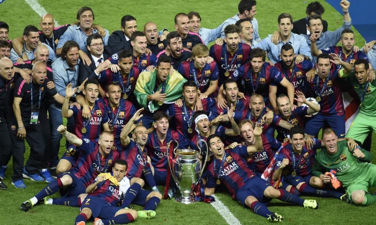 IFFHS: Barcellona squadra del decennio, Juve 6°. Lazio davanti all'Inter, Milan 37°