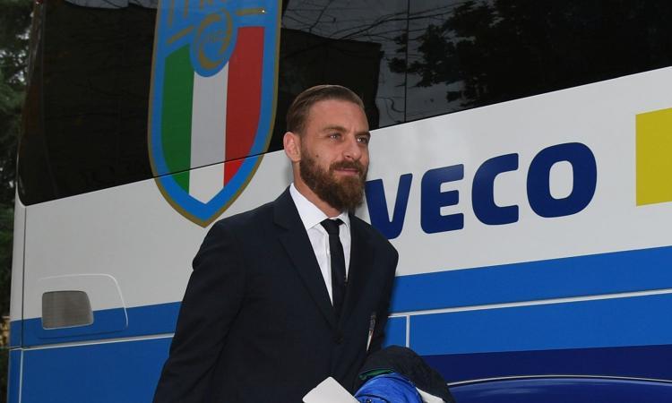 De Rossi ricoverato per Covid allo Spallanzani