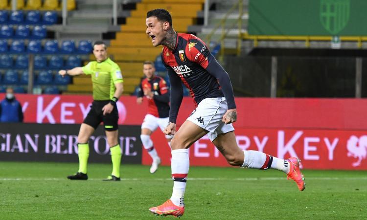 Scamacca boom con il Genoa: la promessa della Juve e quel tentativo del Milan...