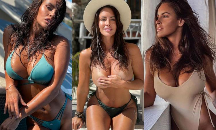 Lucia Javorcekova esagerata, treccine e che forme in bikini: meglio il lato A o il lato B? FOTO HOT