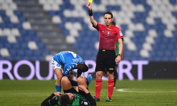 Napolimania: dopo il ricorso vinto per la Juve, gli arbitri non perdonano. E senza Champions vendiamo tre big