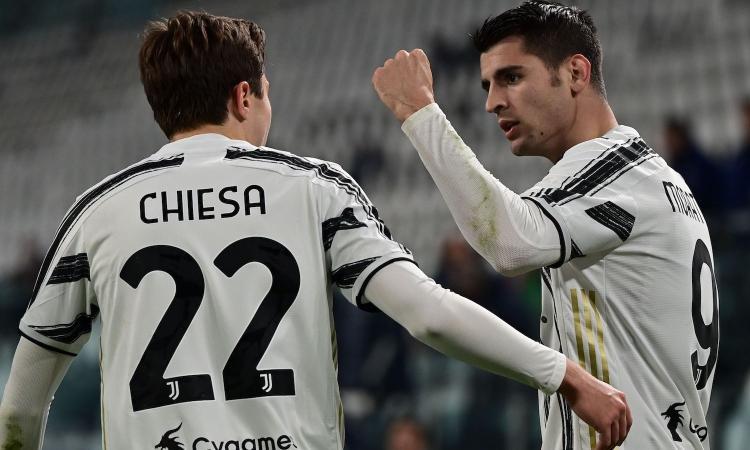 Juve-Lazio, le pagelle di CM: Morata fa il Ronaldo, Chiesa è la solita furia, Immobile lascia solo Correa
