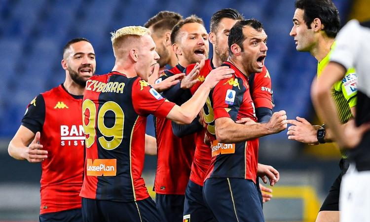 Genoa-Benevento 2-2: il tabellino