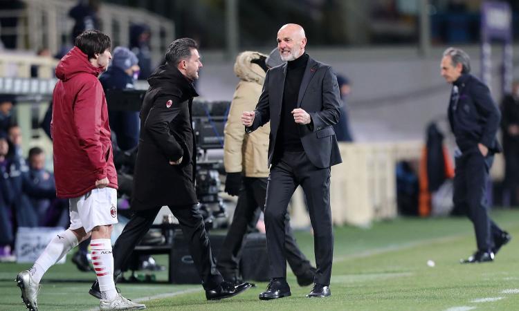 Per lo scudetto è tardi, ma il Milan c'è: 3-2 a Firenze, Pioli stramerita la Champions