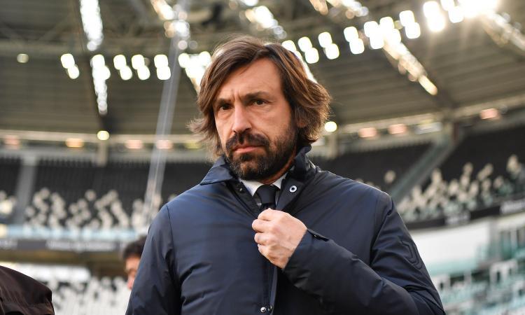 Juventus, Pirlo rischia la panchina: crolla la quota dell'esonero