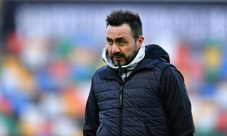 Sassuolo, De Zerbi: 'Locatelli e i nazionali fuori anche con l'Inter, fatta una scelta e non cambiamo idea'