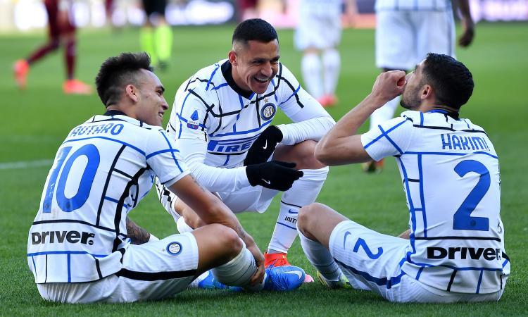 L'Inter e un Sanchez da scudetto: Dzeko e il no che ha fatto saltare tutto