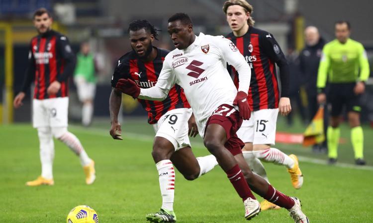 Milan stregato da Singo: Maldini studia la strategia per convincere il Torino