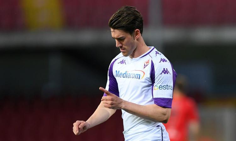 Fiorentina, tutti vogliono Vlahovic