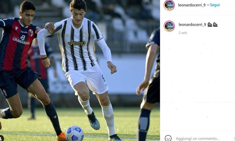 Juve, Cerri compie 18 anni: il gigante soffiato a Inter e Roma studia da Pirlo e CR7