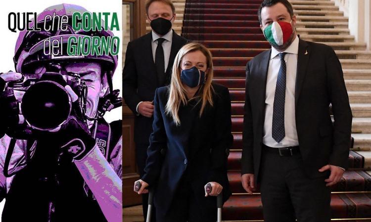 Fratelli d'Italia e Lega, più sei anti-Stato più sei anti-vaccino: i dati
