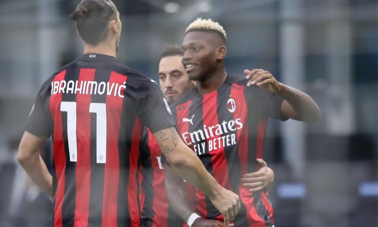 Milan, niente paura: senza Ibrahimovic sei migliore, che numeri! E Leao...