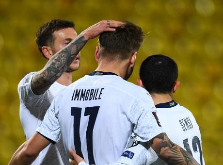 L'Italia sbatte contro l'ex portiere della Lupa Roma, Mancini ...