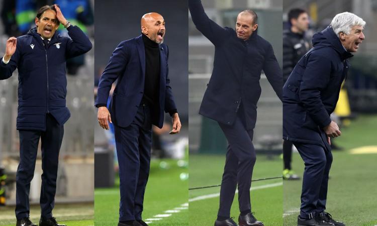 Juve: Simone Inzaghi, Spalletti o Gasperini, tutti i nomi se salta Pirlo. E Allegri...