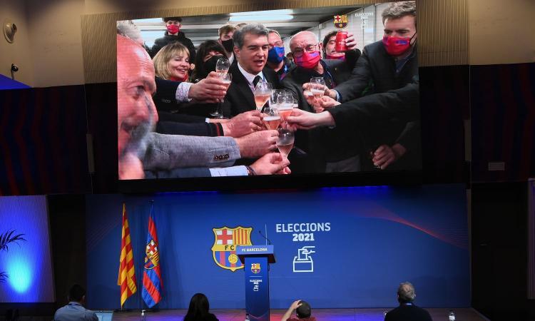 Barcellona, UFFICIALE: Laporta nuovo presidente, battuti Víctor Font e Toni Freixa. Ora dovrà risolvere il 'caso' Messi