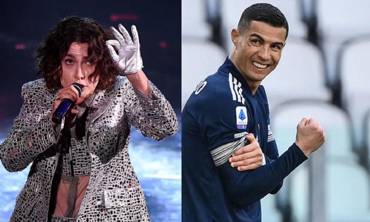 Momenti Di Gioia: tra Sanremo e Fabri Fibra, Madame palleggia come il 'fan' Cristiano Ronaldo: 'Ma la droga...'
