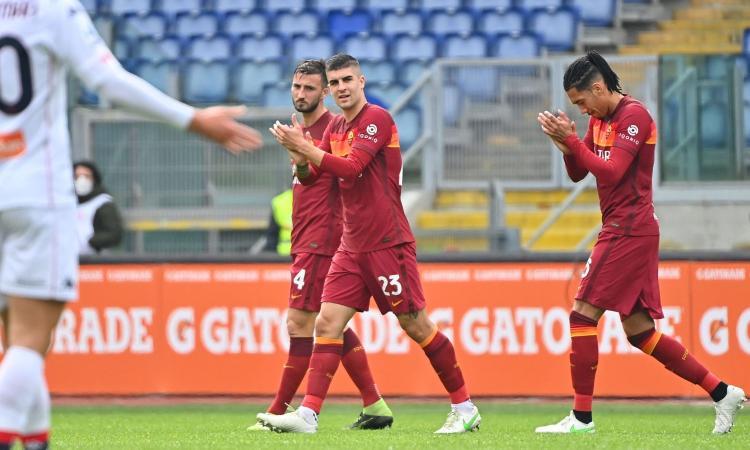 Roma, Mancini: 'Non abbiamo fatto una bella partita, contano i tre punti. Ma per la Champions serve di più'