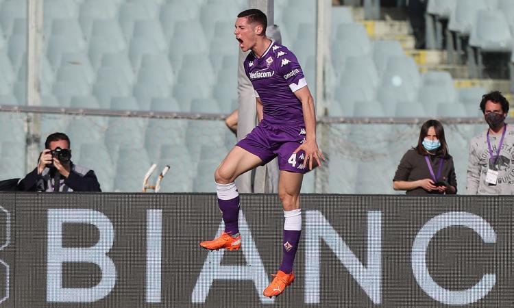 Fiorentina: Milenkovic ora è un problema, un club è in pole position per giugno
