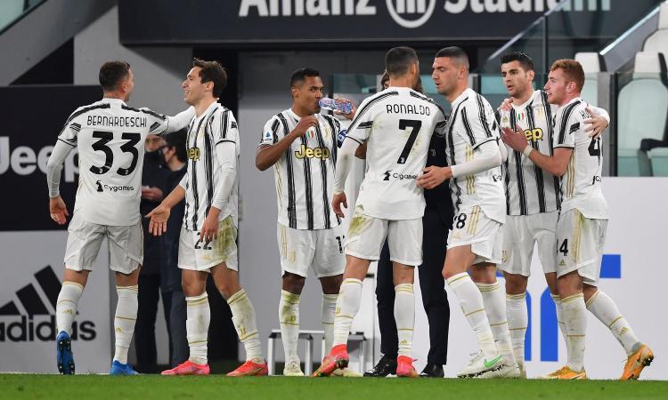 Morata-Chiesa-Ronaldo: tris Juve allo Spezia, Pirlo terzo in classifica