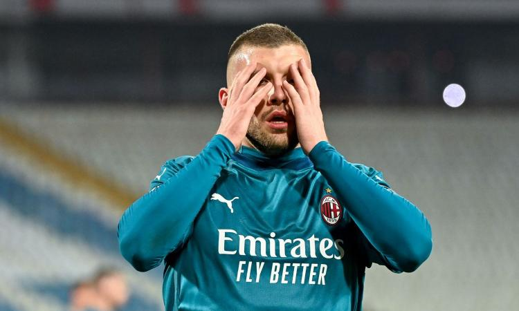 Milan, l'emergenza non si placa: Rebic va ancora ko e salta il Verona. I dettagli