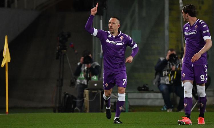 Ribery ancora in Italia: proposto a Milan e Lazio, è in trattativa con l'Hellas Verona