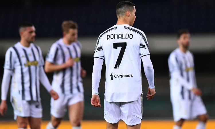 Juventus-Spezia: un'altra doppietta per Cristiano Ronaldo a 5,25