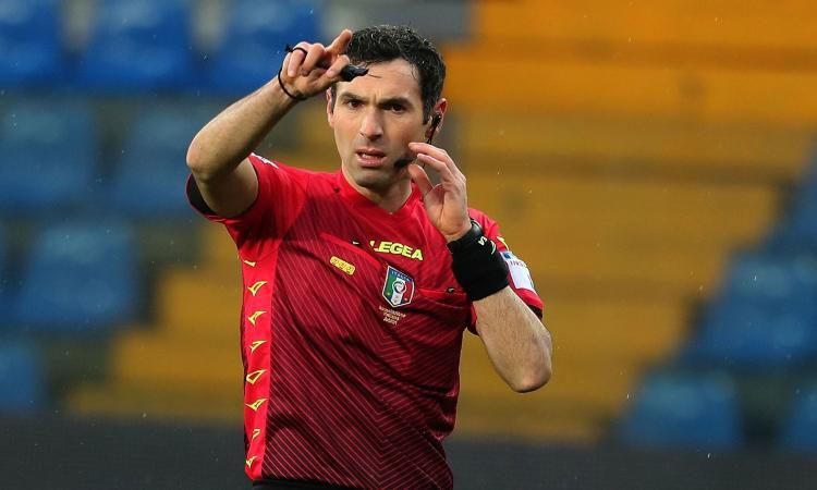 Sampdoria-Roma: i 6 arbitri