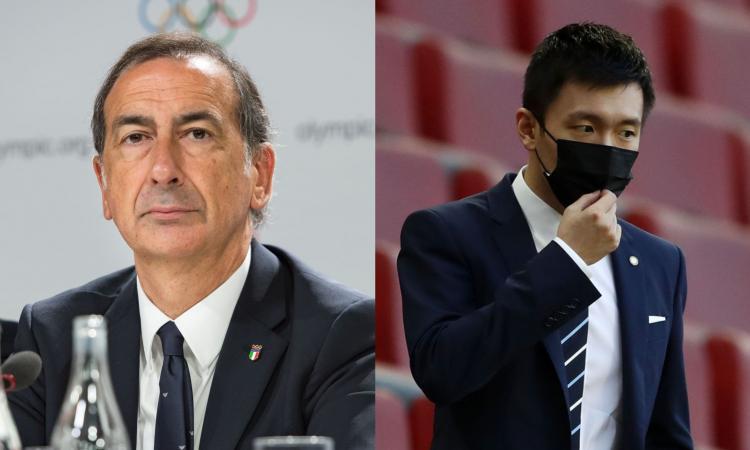 Sala-Zhang, che caos per il nuovo stadio: milanesi e interisti, da che parte state? VOTA